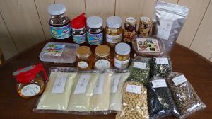 ハチミツマーチャン(ハチミツ、味噌、ピクルスなど)の紹介