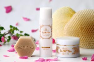 「Su*Mi*Tsu」Comb Honey Cosmetics<基礎化粧品>の紹介