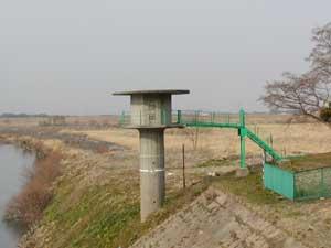 『旧水位観測施設』の画像