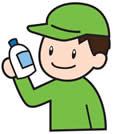 消毒剤の点検・補給