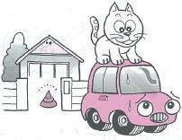 車を傷つけるなどの危険があります