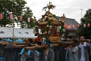 元栗橋お祭り(お神輿)