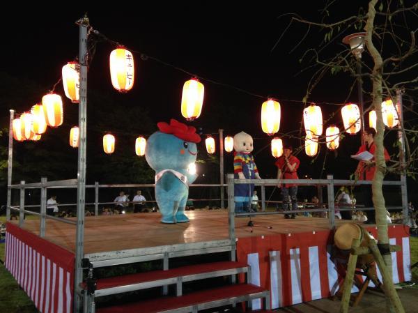 『キューピー五霞工場秋祭りの様子です』の画像
