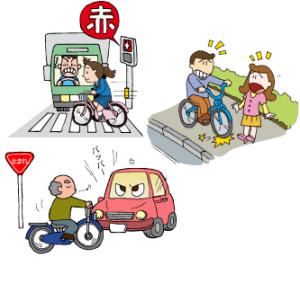 自転車危険行為