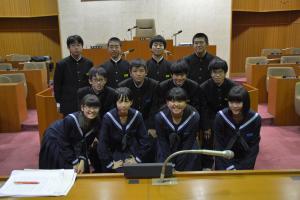 『H28中学生議会集合』の画像