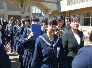 『H28度五霞中卒業式2』の画像
