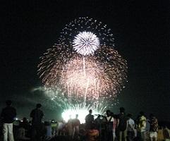 『利根川大花火1』の画像