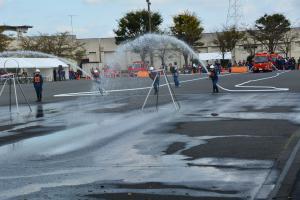 『H29.10.8消防ポンプ操法大会』の画像