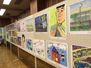 H29文化祭小学生絵画