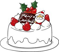 『児イラスト クリスマスケーキ2』の画像