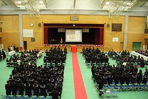 H29年度中学校卒業式全体