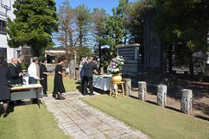 『H30戦没者追悼式』の画像