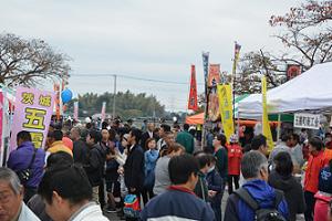 『H30ふれあい祭り会場様子』の画像