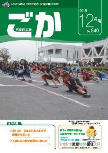 H30.12月広報ごか表紙