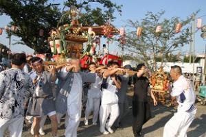 元栗橋祭り