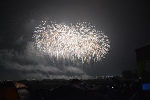 R1.7.13利根川大花火大会会場
