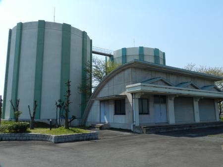川妻浄水場(沈殿池)