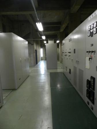 川妻浄水場(上空)