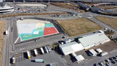 スポーツパーク上空写真 (4)