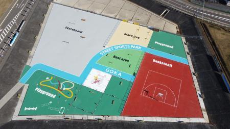 スポーツパーク上空写真 (5)