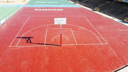 バスケットボールエリア