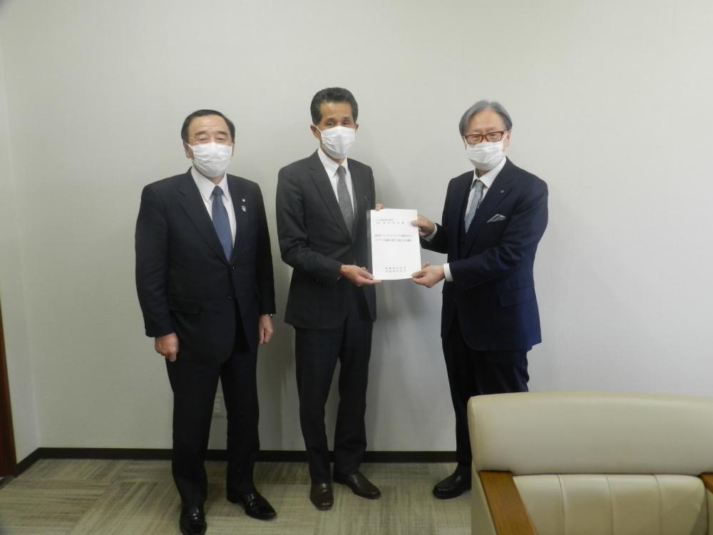 茨城県医師会長へ要望