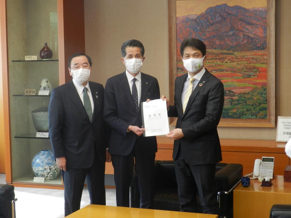 茨城県知事へ要望
